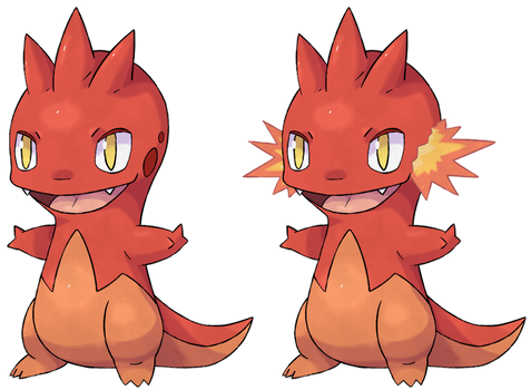 Fakemon - Axire by PanLeSpritartist