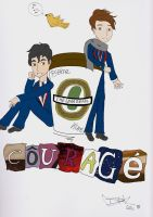 Klaine's Courage by SassyLittleThing