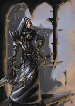 Inquisitor lady by jasperavent