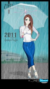 memorable GTC : raining day by kha969