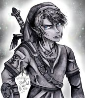 Hero of Time- Link Drawing by Jade-Viper