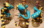 Hufflepuff Bottle Dragon for StormyWolf by SmilingMoonCreations