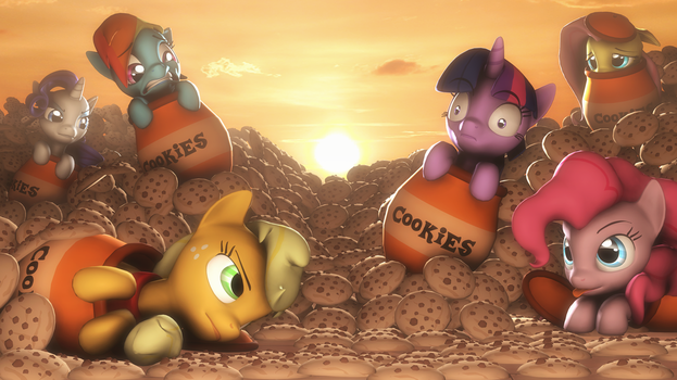 Desert cookies by SelestLight