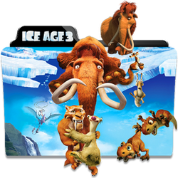Ice Age 3 Dawn of the Dinosaurs Folder Icon by dahlia069