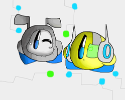 I made some new kirbs OC's. :P by Bubble-Bash