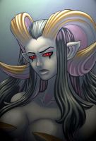 Showkaizer's Demoness by CathyStephens