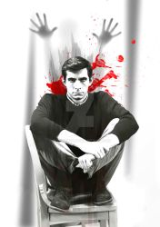 norman bates is watching your shower by sotnem24