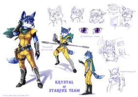 Krystal redesign by ALA1N-J