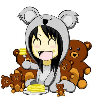 Me, My Pancakes and My Bears by kakurenshin