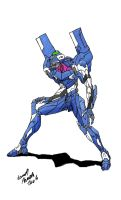 Evangelion Unit-00 2ndVersion by Dino-master