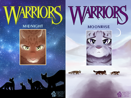 Redrawn Warriors Covers TNP 1-2 by shadowily