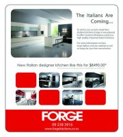 Forge Kitchens Advertisement by zumiere