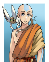 Avatar Aang by ColorFux