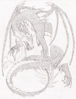 Wip: Dragon Doodle by Day-Week