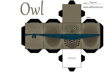 Owl by Cubee-acres