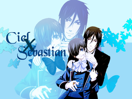 Ciel x Sebastian by Requiem-for-Zachy