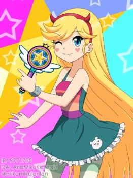 Mahou Princess: Star Butterfly by AriaMikuKanzaki