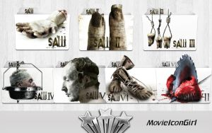 Saw Collection Folder Icon Pack by MovieIconGirl