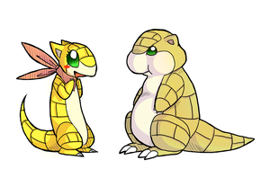 Didi and Marty by Trinosaur