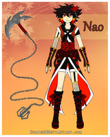 Arhkis - OC Ref - Nao by Norieh