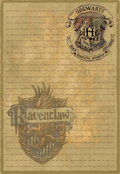 Ravenclaw Stationery Option1 by Sinome-Rae