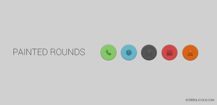 Painted Rounds by xNiikk