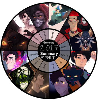 Art Summary 2017 by GeminyfoX