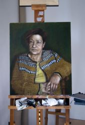Portrait - in progress by hanestetico