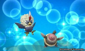 Pokedex 3d - Rufflet and Vullaby