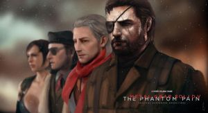 Metal Gear Solid V: The Phantom Pain by WretchedIAN