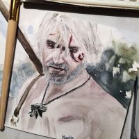 Geralt. The Witcher 3. by oksiphotography
