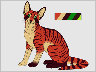Adoptable cat 2 (OPEN) by DestinyvonBull