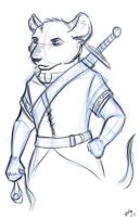 Redwall - Martin - Sketch by Realms-Master