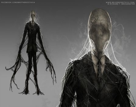 Slenderman - Nevermore Toys by BrotherOstavia