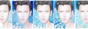 Hrithik Roshan by Dabboo Ratnani version 3 and 4 by creativebarbwire