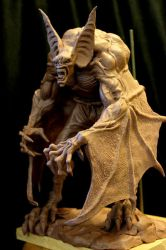 Manbat WIP by Blairsculpture