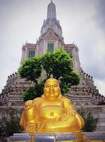 Golden Buddha by emshore