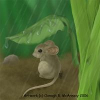 Rainy Days Mouse 2 by randomonia