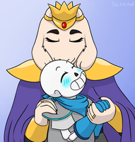 Soriel Kissmeme B1 by PoisonDIlu