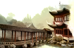 Yu Garden, Shanghai by paintedcastle