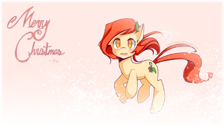 Autumn Leaves - MERRY CHRISTMAS by derpiihooves