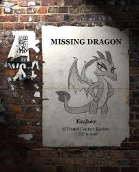 Missing Dragon by jasonanimation4