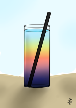 Summer cocktail by xFeajix
