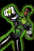 iPhone Green Lantern by Lord by RyanLord