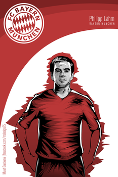 Philipp Lahm Vector by MDesign25