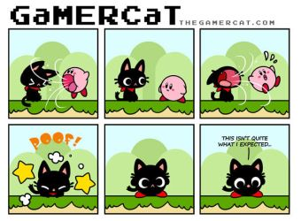 GaMERCaT - Kirby by celesse