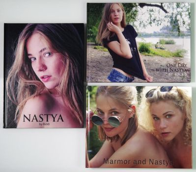 *** 3 Books with Nastya - 10% Discount * by RickB500