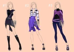 [closed] Auction Adopt Outfit female by YuiChi-tyan