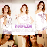 +PHOTOPACK 01 Martina Stoessel by iAnnto