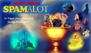 Non/Disney's ''Spamalot'' by Lonewolf-Sparrowhawk
